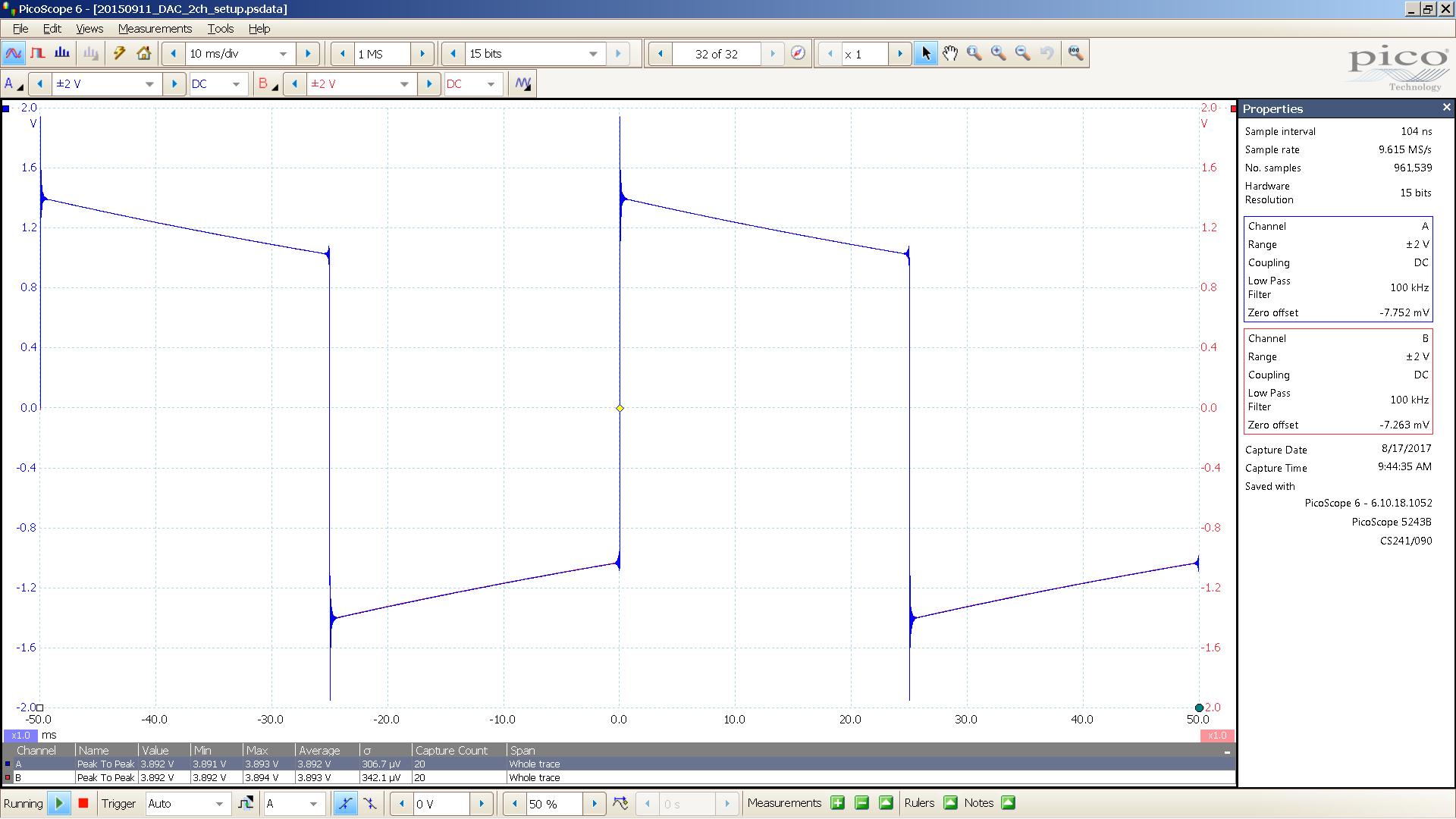 13 Bal HP 20 Hz sqr A=-22 0 dBu 10mS div 300R Mix WDM.PNG