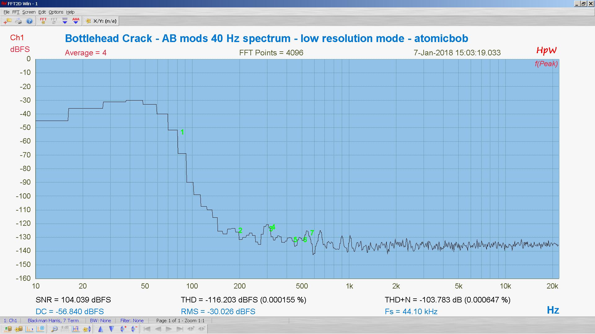 20180107-20 BH Crack e80cc 5998 40 Hz THD THD+N 4K FFT- ASIO -30 dBFS - HpW.PNG