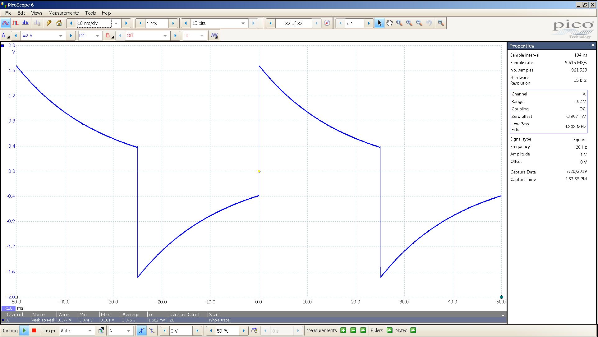 20190720 SigGen T4 Mullard CV4024 20 Hz square 2000mVpp 10mS div 5MHz filter 30R.png