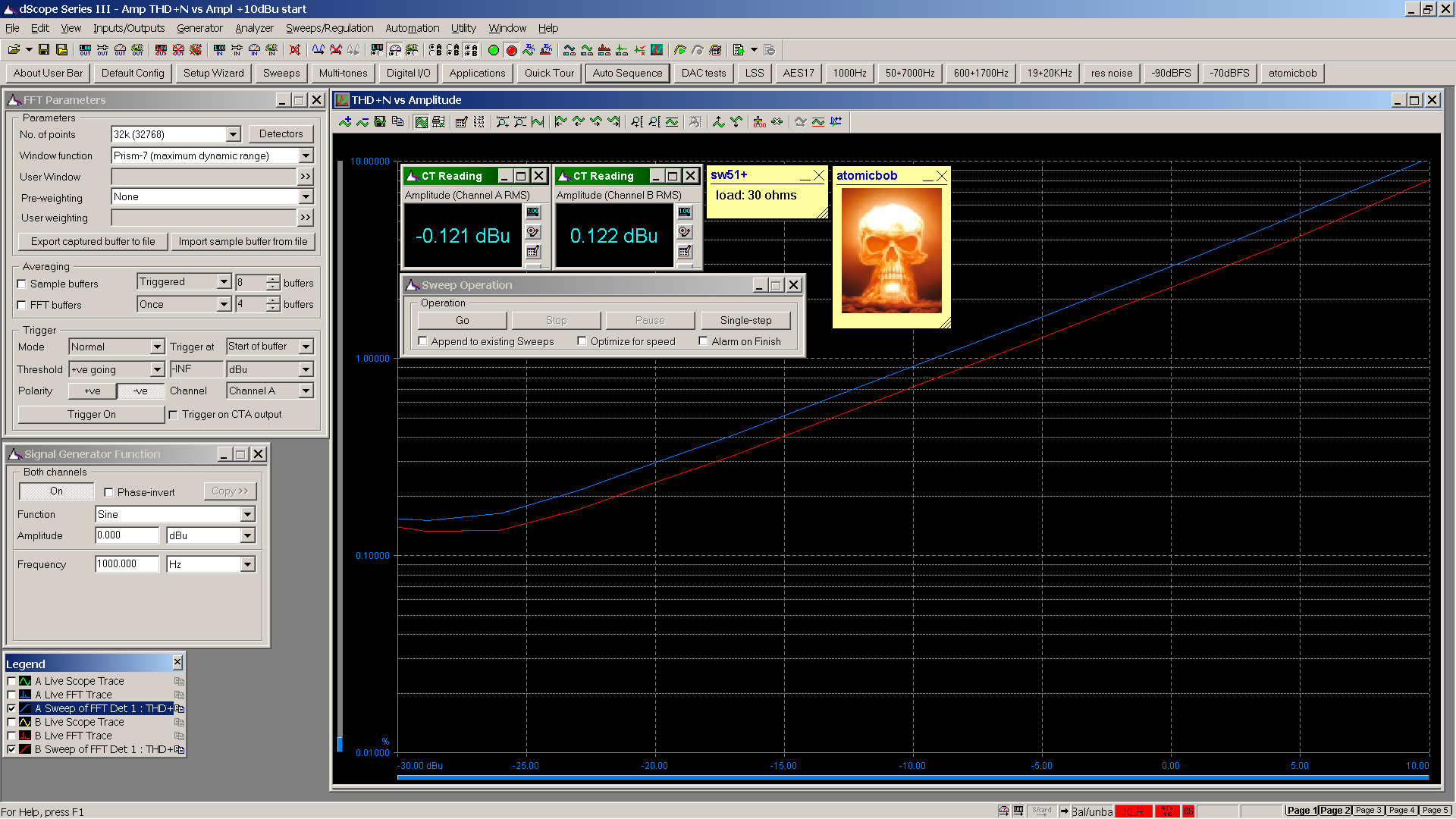 20191008-3 SW51+ 6Z51P THD+N vs dBu 1000Hz 30R LoZ 0dB gain.png