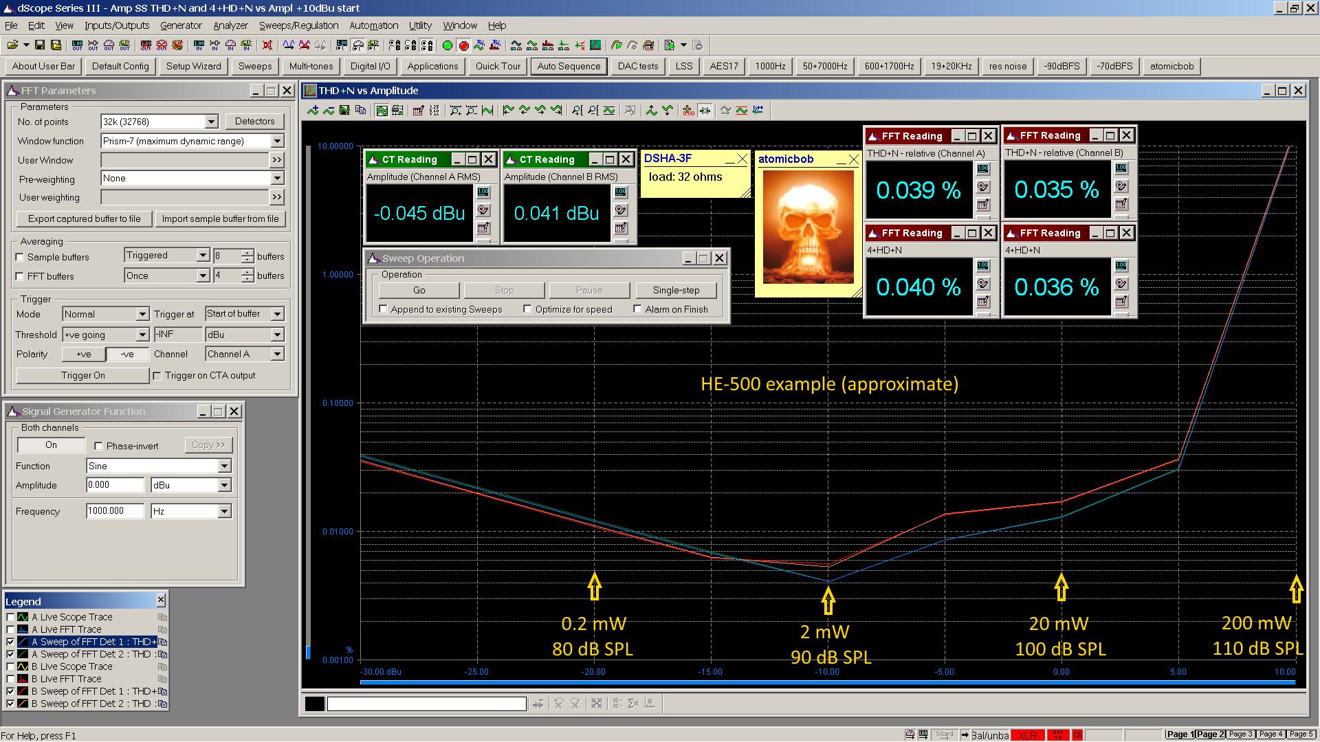 20191021-2 DSHA-3F THD+N  nth-HD vs amp 32R - annotated HE-500.png