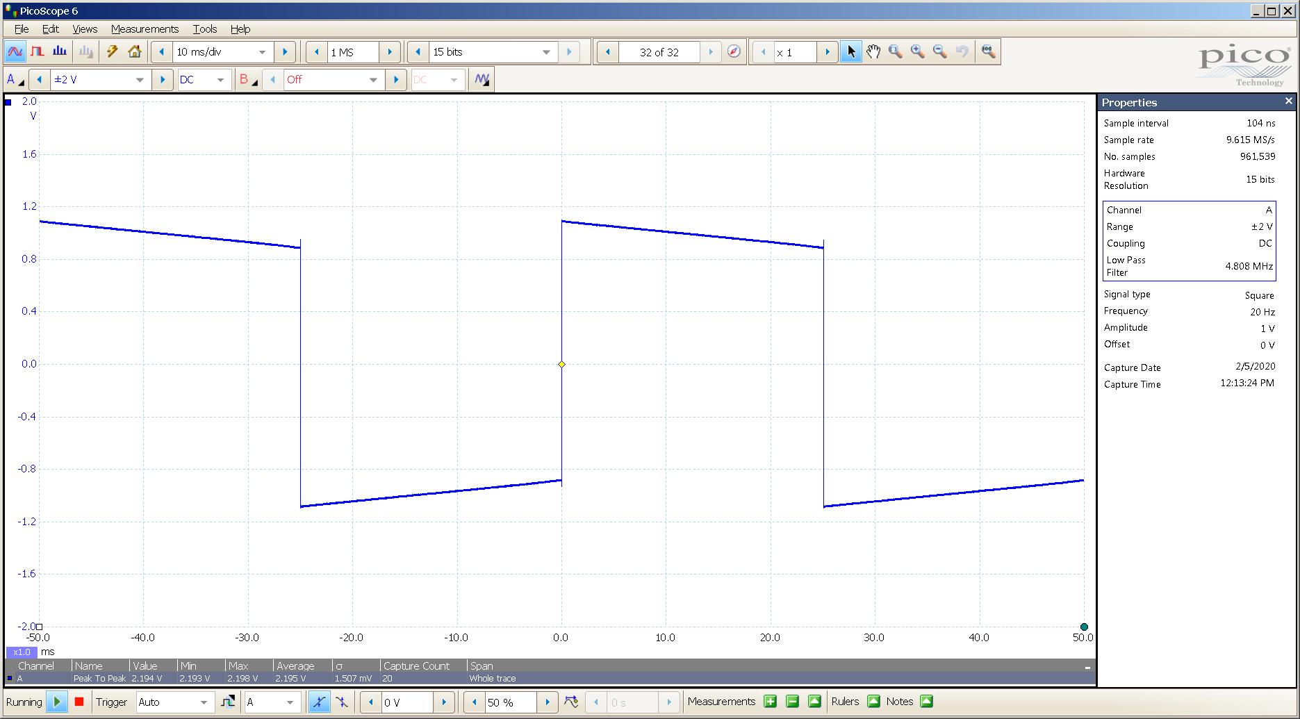 20200205 SigGen ECP T4 Mullard CV4024 20 Hz square 2000mVpp 10mS div 5MHz filter 300R.png
