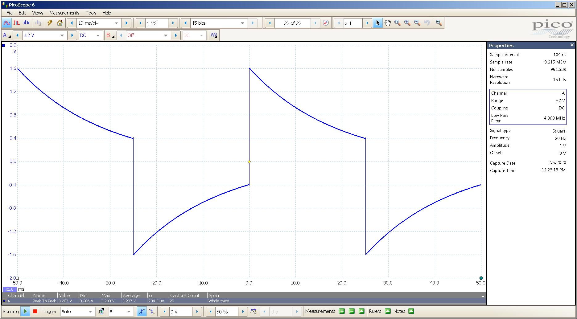 20200205 SigGen ECP T4 Mullard CV4024 20 Hz square 2000mVpp 10mS div 5MHz filter 32R.png