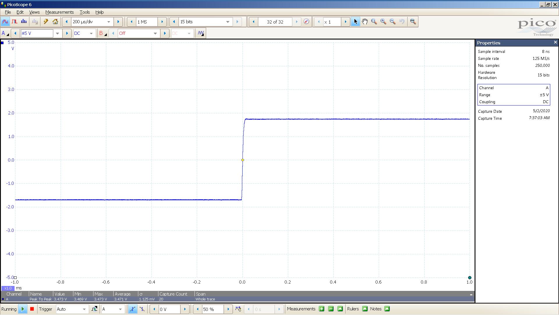 20200502-05 KTE Spring2 20 Hz sqr -4 dBFS 4 Vpp 200uS div SE - ASIO - NOS.png