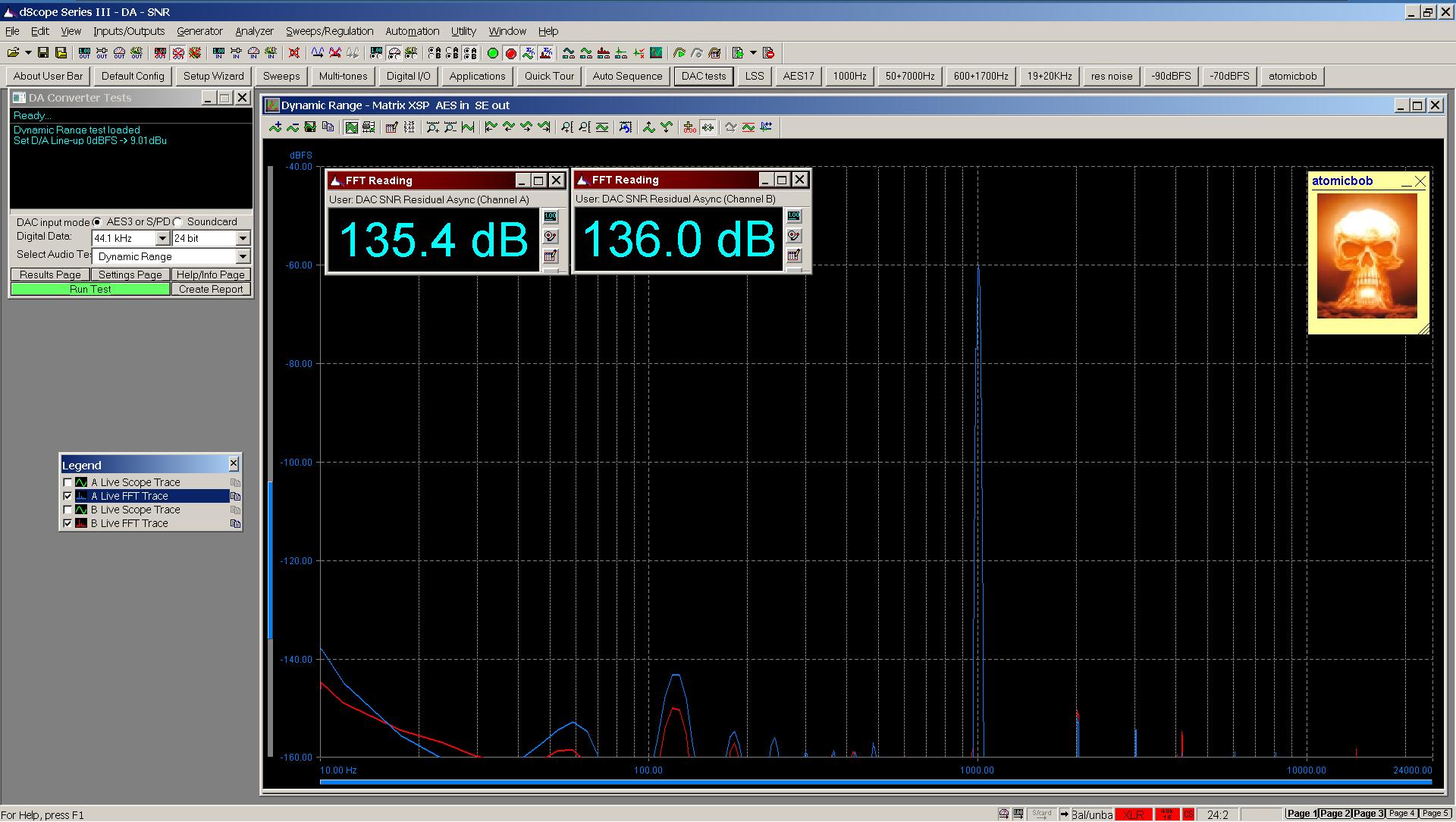 20200507 Matrix XSP dynamic range FFT AES SE.png