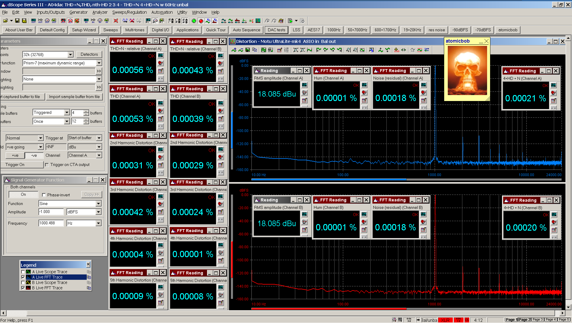 20200523-04 UltraLite-mk4 A04 THD+N THD nth-HD 4+HD+N 60Hz FFT -1dBFS - ASIO Bal.png