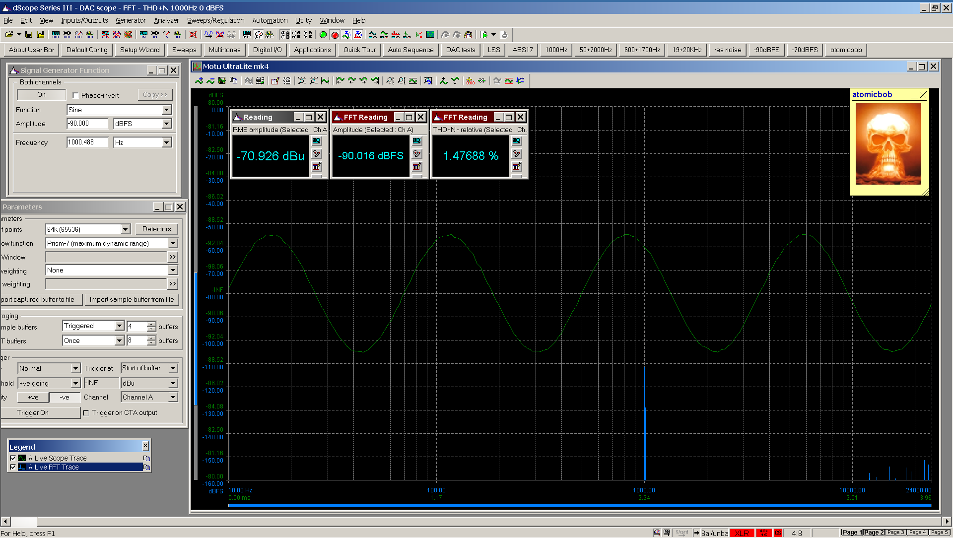 20200531-06 UltraLite-mk4 THD+N FFT -90 dBFS - spdif Bal.png