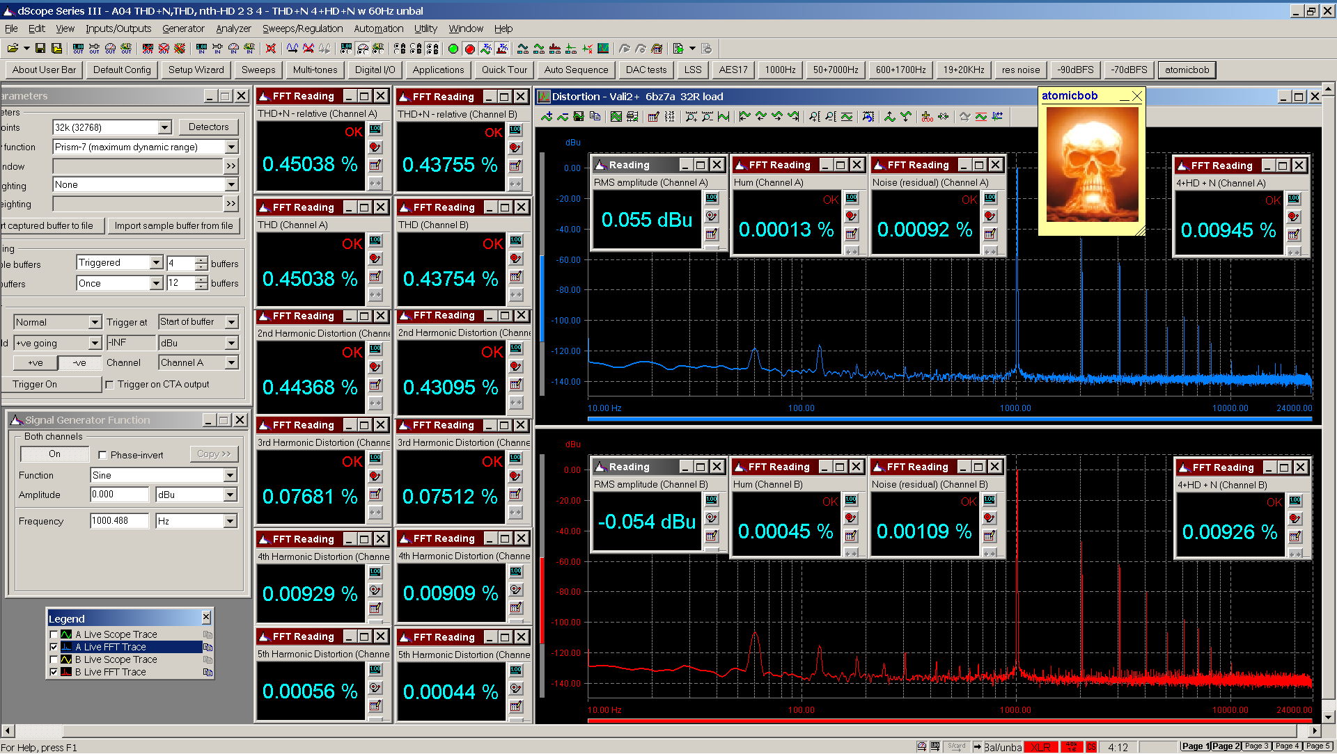 20201120 Vali2+ 6bz7a A04 THD+N  THD  nth-HD FFT 32R - 4+HD+N with 60Hz 0dBu.png
