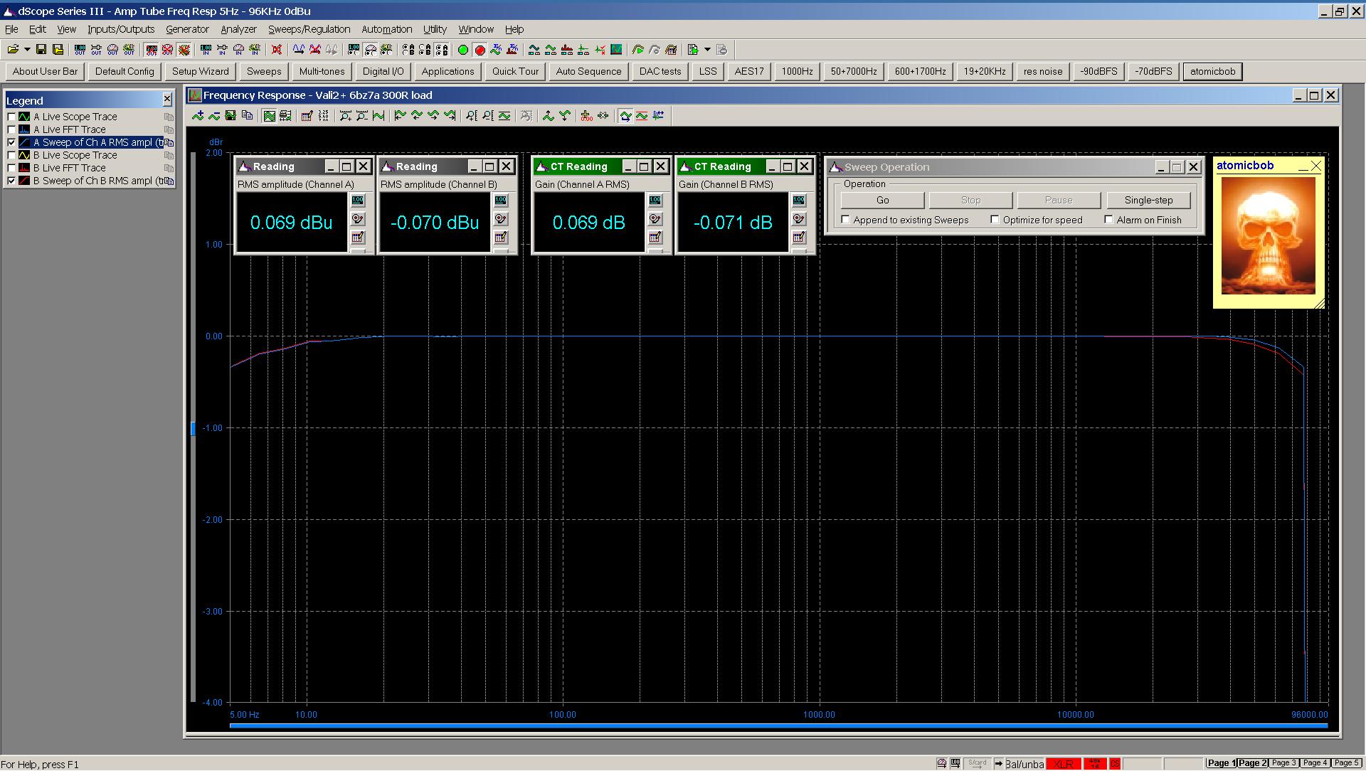 20201120 Vali2+ 6bz7a frequency response 5Hz - 96KHz 300R 0dBu.png