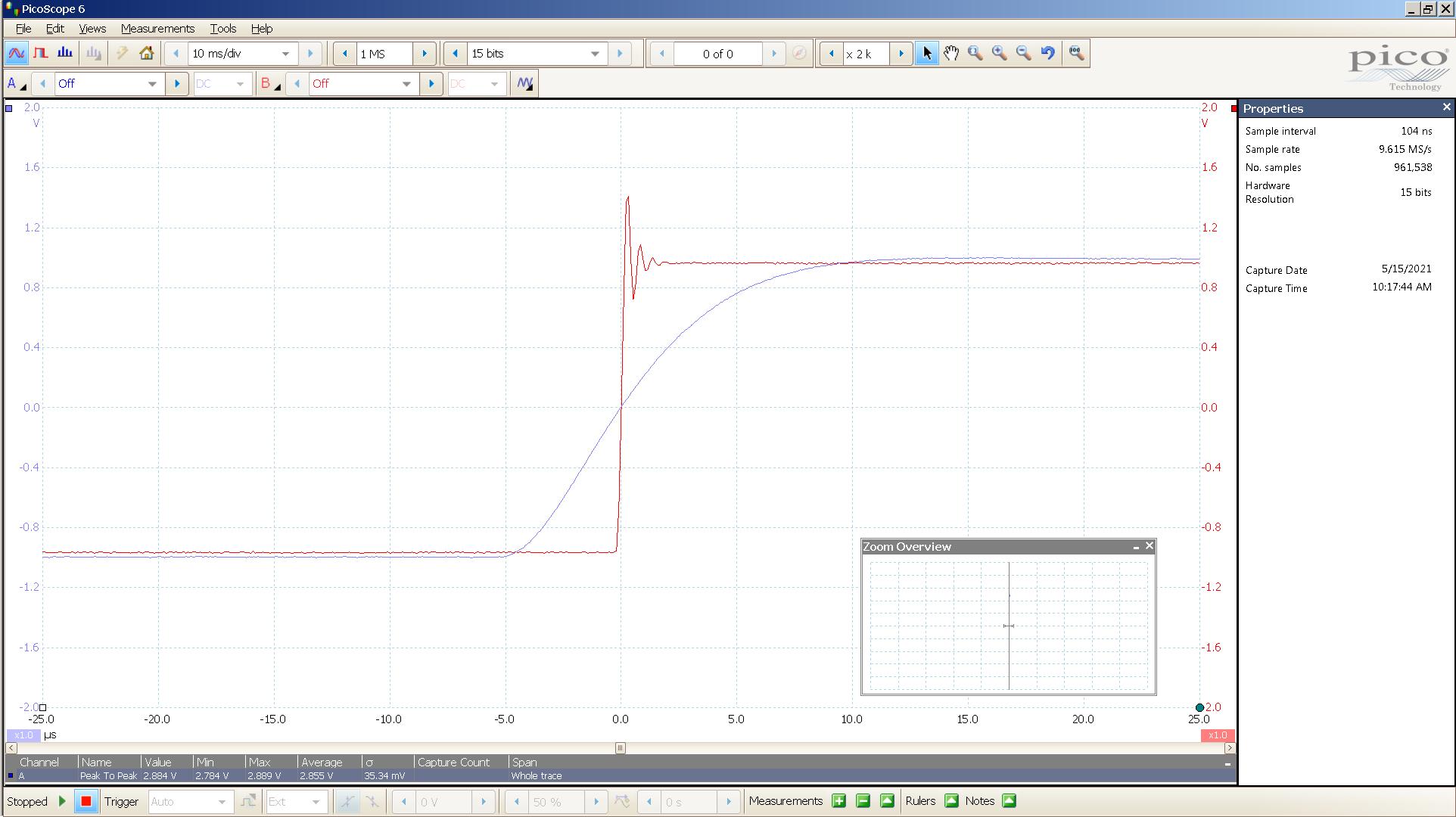 20210515 SigGen Spring2  Wavelight 20 Hz square 2000mVpp 5uS div 5MHz filter AES 88K SE.png