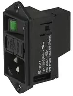 IEC60320 C14 AC inlet with fuse and switch.png